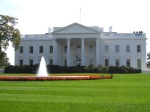 Our first look of the White House.  I will visit the interior on Thursday morning and the garden grounds on Saturday.