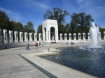 The World War II Memorial honors the 16 million Americans who served in the conflict that started in 1941.  Over 405,000 thousand Americans lost their lives.
