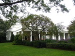 Another view of the Rose Garden and the Oval Office.